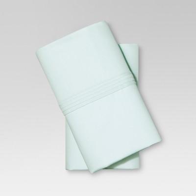 Organic Cotton Pillowcase Set (Standard)Sealight Aqua - Threshold™