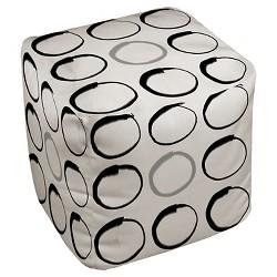 Zen Circles Pouf - Thumbprintz