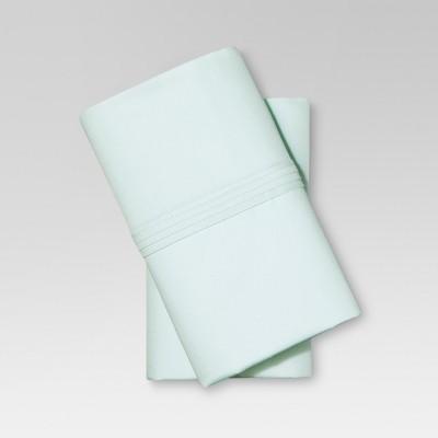 Organic Cotton Pillowcase Set (King)Sealight Aqua - Threshold™