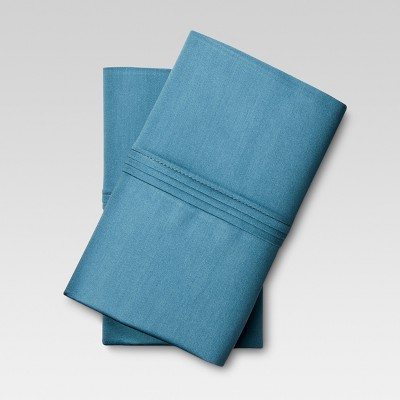 Organic Cotton Pillowcase Set (King)Deep Blue - Threshold™