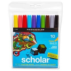 Prismacolor® Scholar™ Markers, Bullet Tip - 10ct