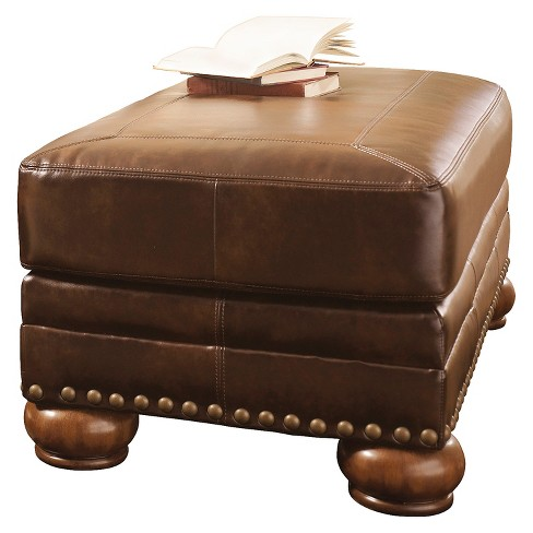 Chaling DuraBlend® Ottoman Antique - Signature Design by Ashley - image 1 of 3