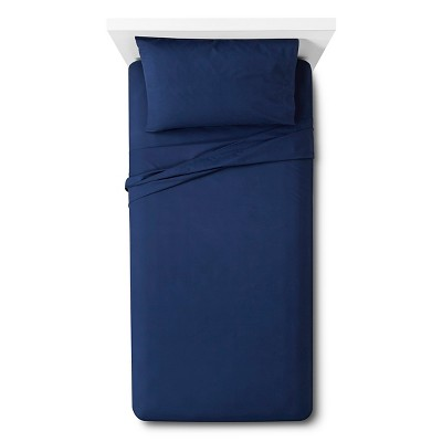 Easy Care Sheet Set (Twin XL)Admiral Blue - Room Essentials™