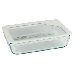 Pyrex 3 Cup Ultimate Glass Lid - White