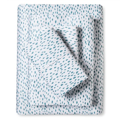 Dash Sheet Set Aqua (Queen)- Sabrina Soto™