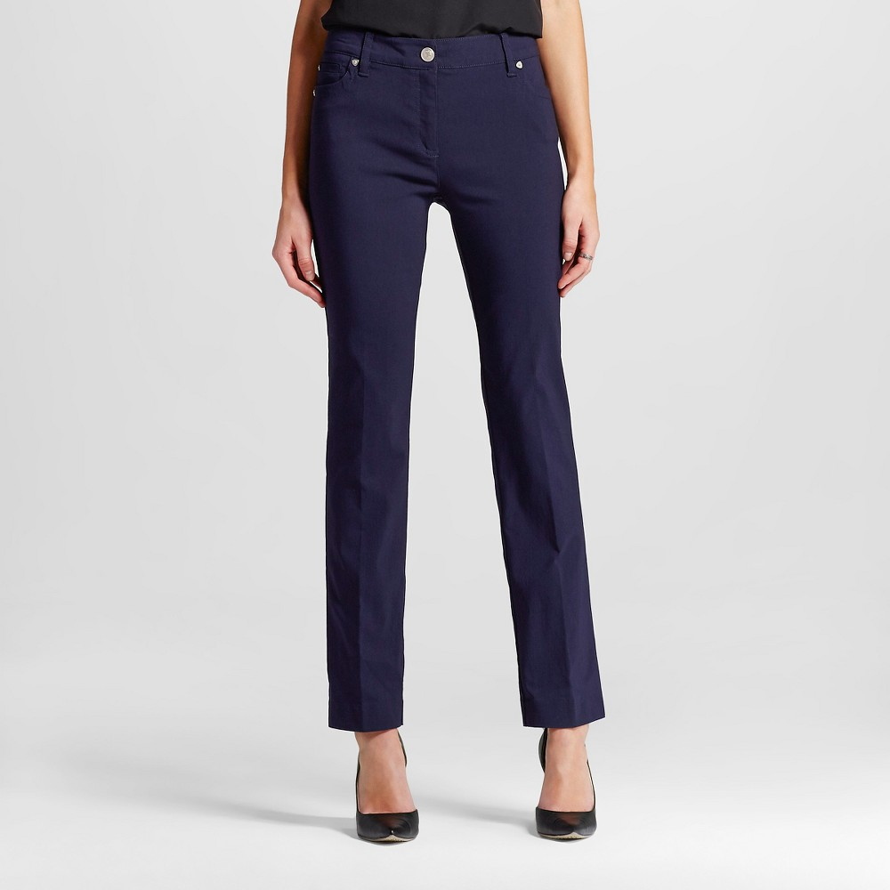 Women's Trousers Navy (Blue) Chest 14 - Zac & Rachel plus size,  plus size fashion plus size appare
