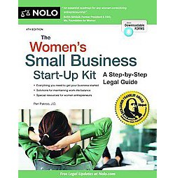 Women's Small Business Start-up Kit : A Step-by-Step Legal Guide (Paperback) (Peri Pakroo)