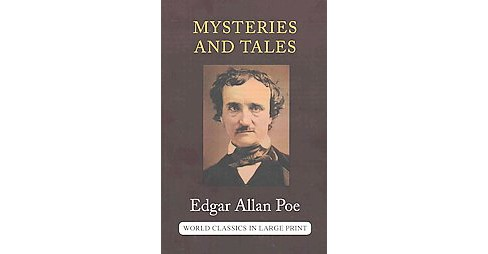 Mysteries and Tales of Edgar Allan Poe (Large Print) (Paperback) - image 1 of 1