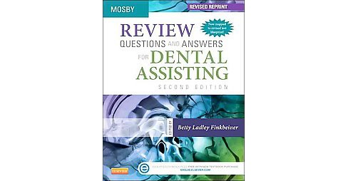 Mosby Review Questions and Answers for Dental Assisting (Revised / Reprint) (Paperback) - image 1 of 1