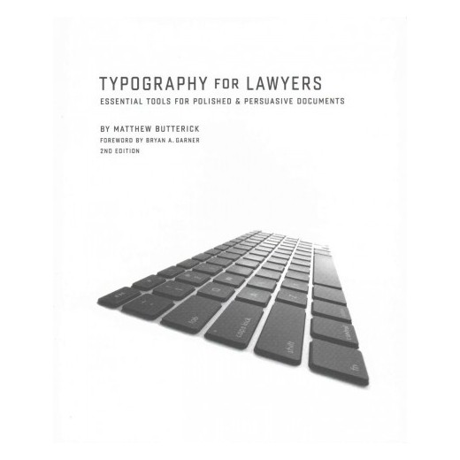 Typography For Lawyers Essential Tools For Polished