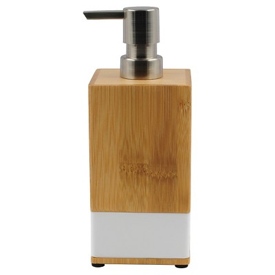Soft Bamboo Soap Pump White - Room Essentials™