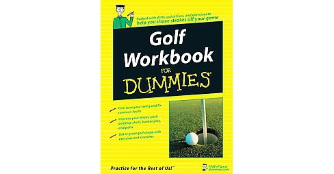 Golf Workbook for Dummies (Paperback) - image 1 of 1