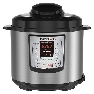 Instant Pot LUX60 V3 6 Qt 6-in-1 Multi-Use Programmable Pressure Cooker, Slow Cooker, Rice Cooker, Sauté, Steamer, and Warmer