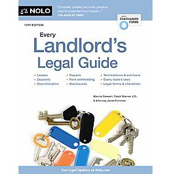 Every Landlord's Legal Guide (Paperback) (Marcia Stewart & Ralph Warner & Janet Portman)