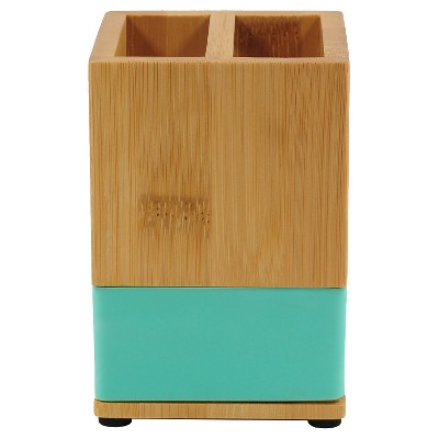 Bamboo Toothbrush Holder Green - Room Essentials™