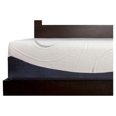 Sealy 14  Hybrid Mattress - White (Queen)