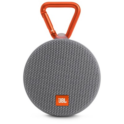 JBL Clip 2 Waterproof Bluetooth Speaker - Gray