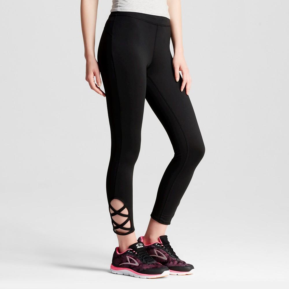 Women's Urban Capri Leggings Black Xxl - Mossimo Supply Co. (Juniors'), Size: Medium