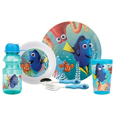 Finding Dory® 6-pc Dinnerware Set Melamine