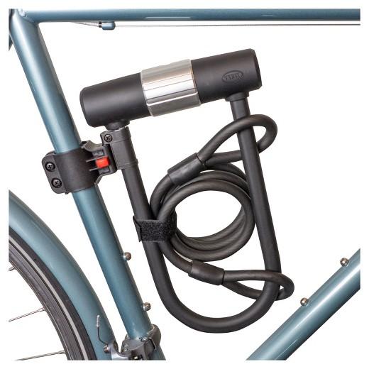 bell catalyst 550 bike u lock and cable target. Black Bedroom Furniture Sets. Home Design Ideas
