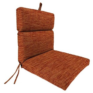 Jordan French Edge Dining Chair Cushion - Remi Nutmeg