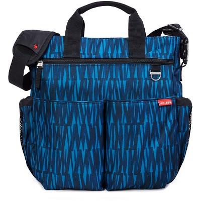 Skip Hop Duo Signature Diaper Bag - Blue Graffiti