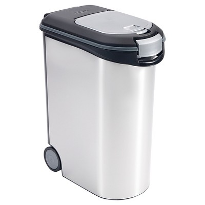 Pet Food Storage Container Silver 5.28 gallon - Boots & Barkley™