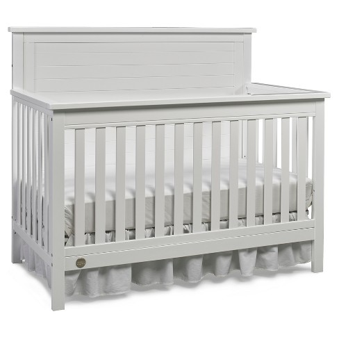 Fisher-Price Quinn 4-in-1 Convertible Crib - White - image 1 of 6