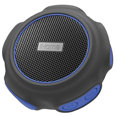 iHome Waterproof Wireless Bluetooth Speaker - Blue