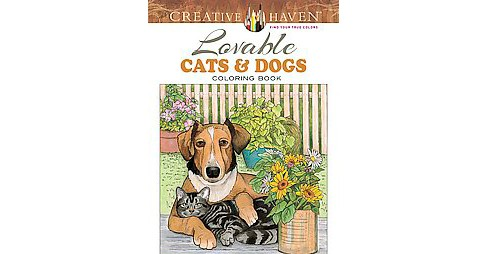Lovable Cats & Dogs (Paperback) - image 1 of 1