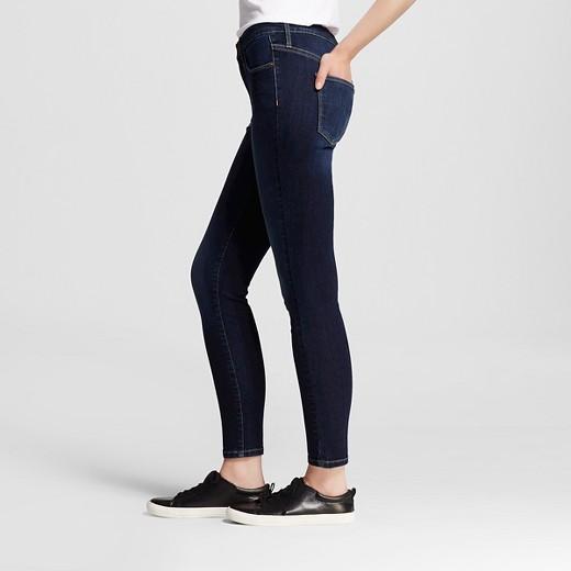 Women's High-rise Skinny Jeans Dark Wash - Mossimo™ : Target