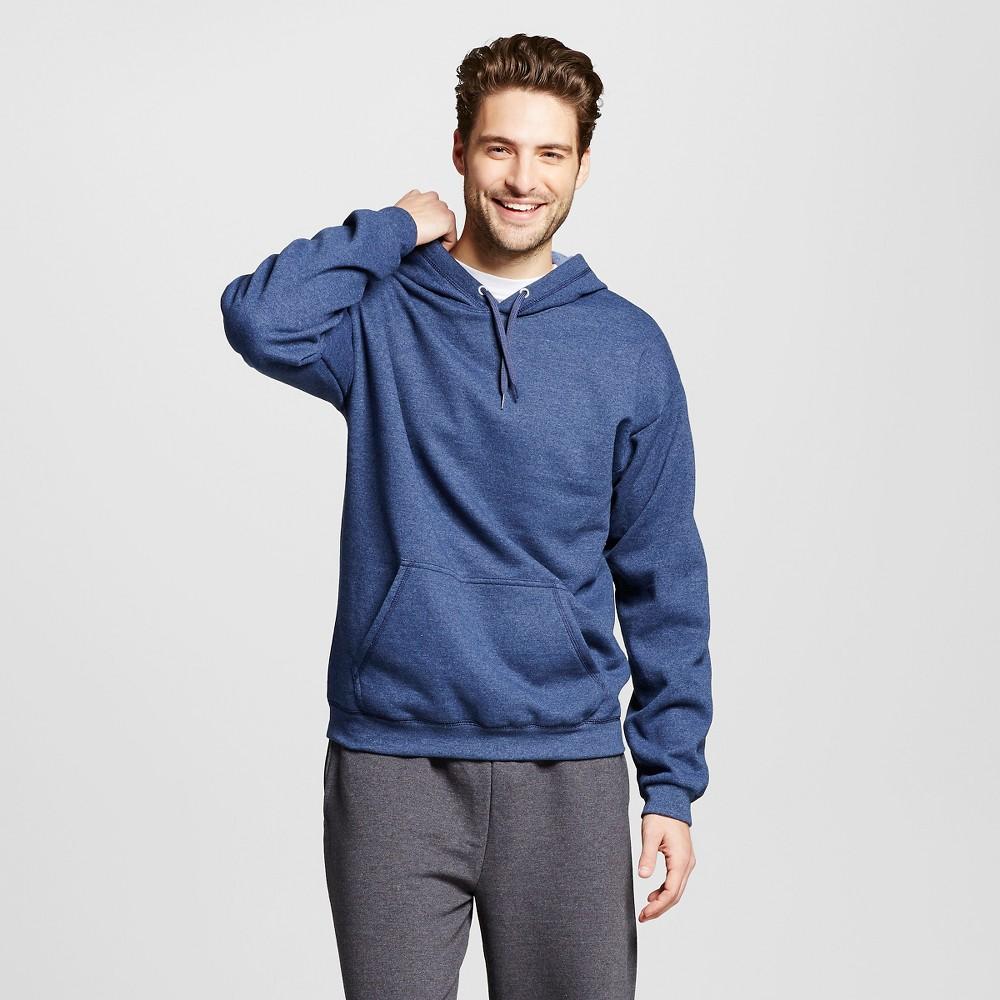 Hanes Premium Men's Fleece Hooded Sweatshirt - Navy XL, Deep Navy