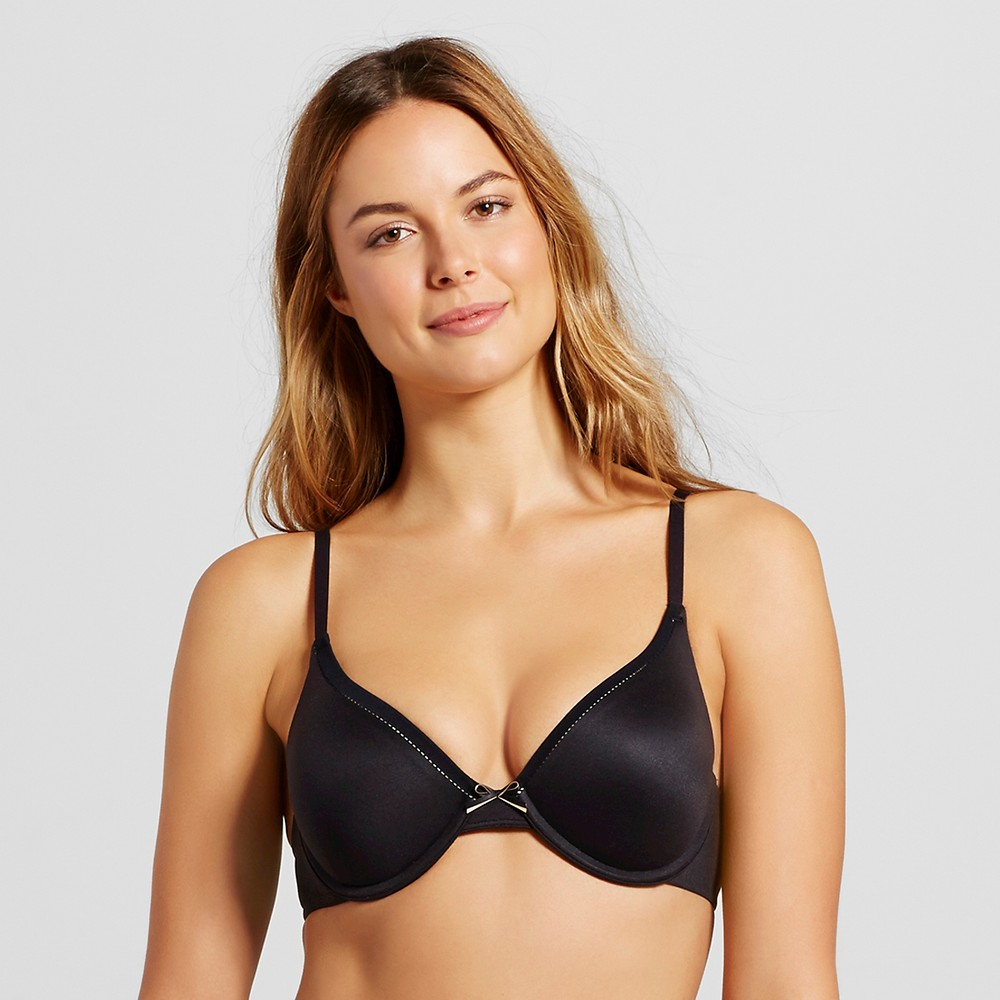 Maidenform Self Expressions Womens Extra Coverage Memory Foam Bra SE6770 Black 40C