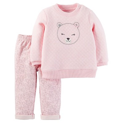 Just One You™Made by Carter's® Newborn Girls' 2 Piece Set – Pink 9M