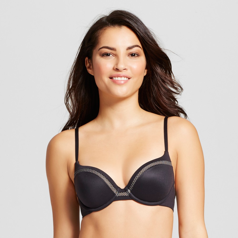 Maidenform Self Expressions Womens Memory Foam with Lift Bra SE9500 Black 34C