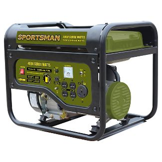 Gasoline 4000 Watt Portable Generator - Black - Sportsman