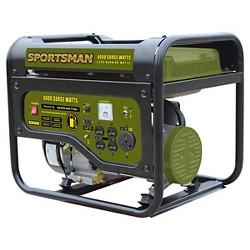 Gasoline 4000 Watt Portable Generator CARB Approved - Black - Sportsman