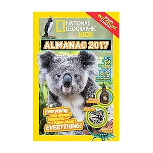 National Geographic Kids Almanac 2017 (Hardcover)
