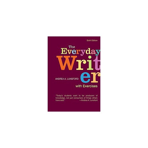 Everyday Writer With Exercises (Indexed) (Paperback) (Andrea A. Lunsford)