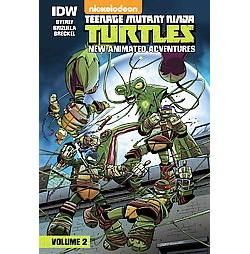 Teenage Mutant Ninja Turtles: New Animated Adventures: Volume 2 : New Animated Adventures (Library)