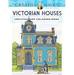 Creative Haven Victorian Houses Architecture (Paperback) (A. G. Smith)