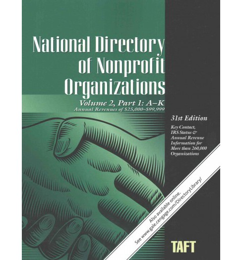 National Directory of Nonprofit Organizations (Vol 2) (Paperback) - image 1 of 1