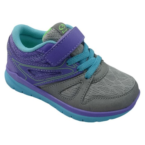 Toddler Girls' Drive 2 Performance Athletic Shoes C9 Champion - Grey 9, Toddler Girl's, Gray