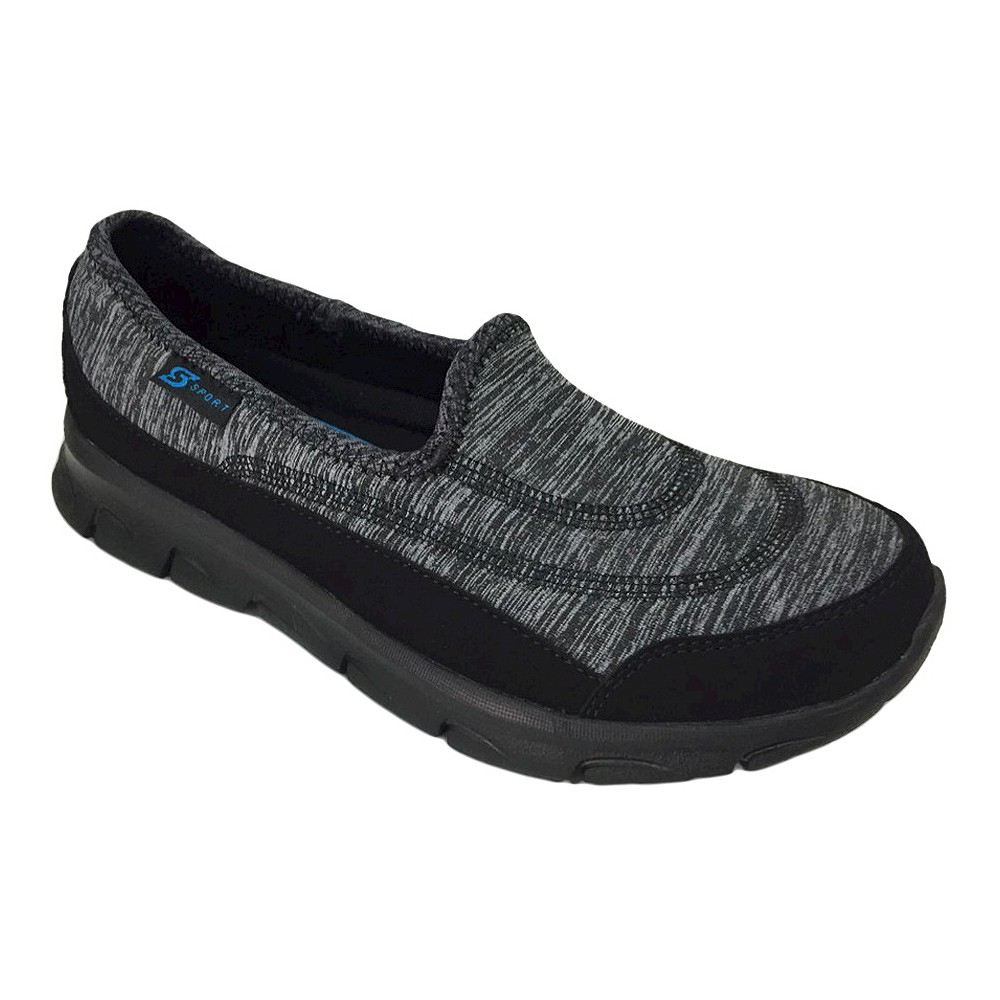 Womens S Sport By Skechers Strolz 2.0 Performance Athletic Shoes - Black 5.5