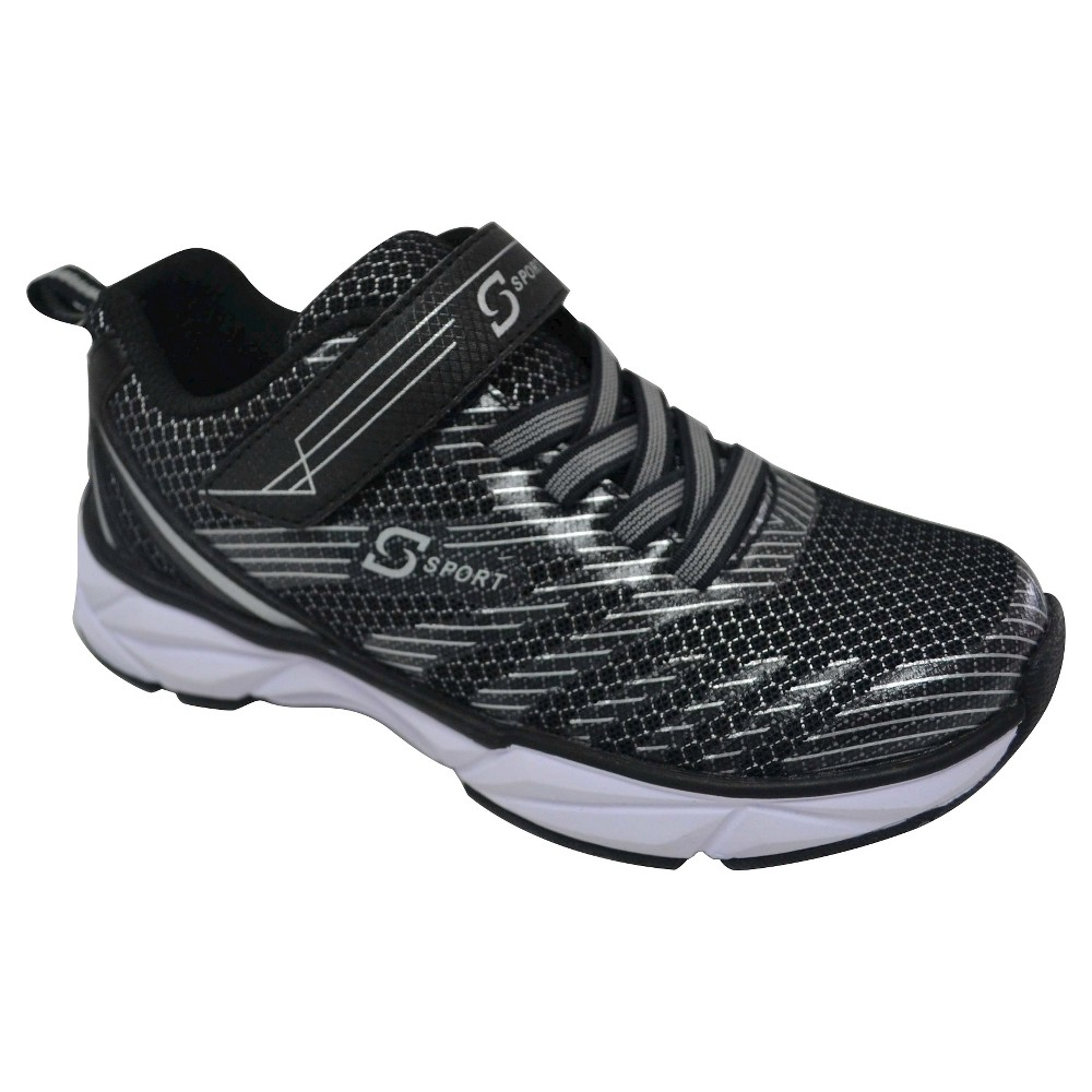 Boys S Sport By Skechers Flexx Performance Athletic Shoes - Black 6