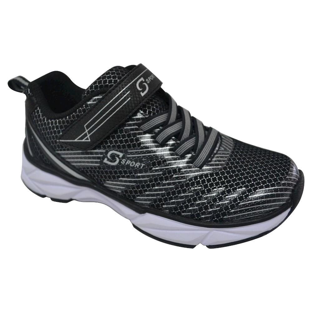 Boys S Sport By Skechers Flexx Performance Athletic Shoes - Black 13