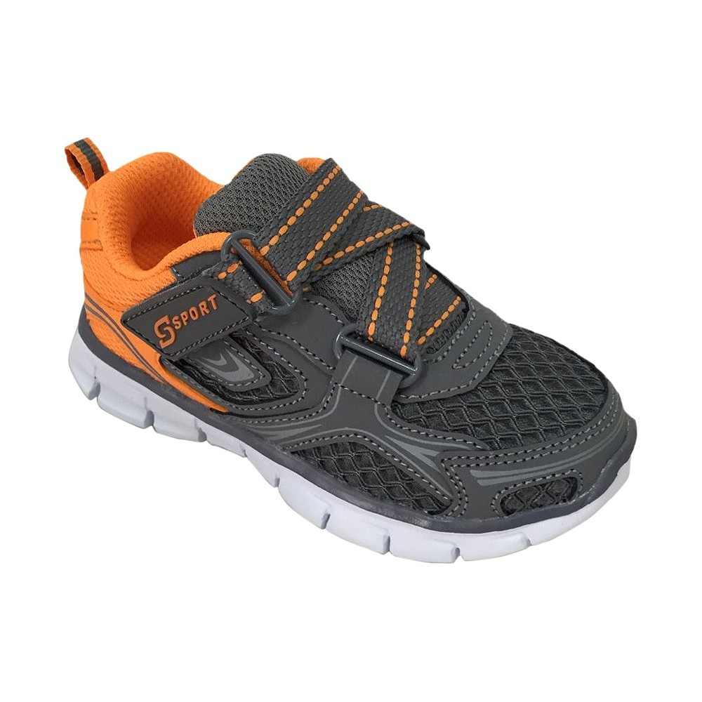 Toddler Boys S Sport By Skechers Powerplay Performance Athletic Shoes - Gray 6