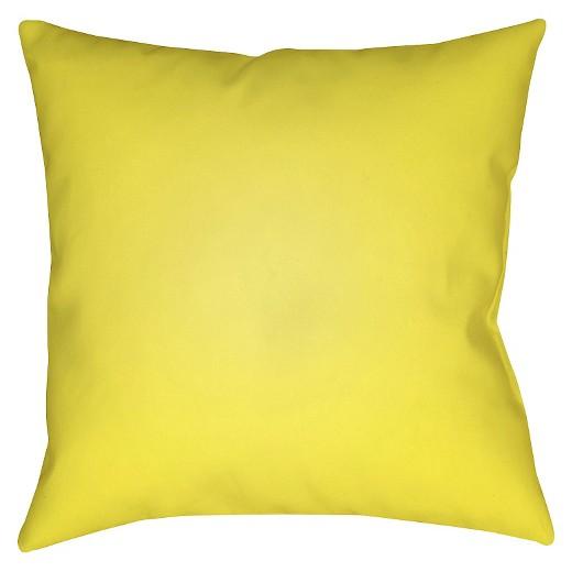 Yellow You & Me Throw Pillow 20