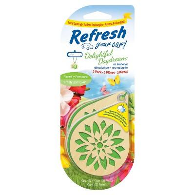 Refresh Your Car Delightful Daydream 2pk - Flores Y Frescura