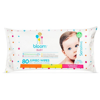 Bloom Baby Wipes - 80 ct